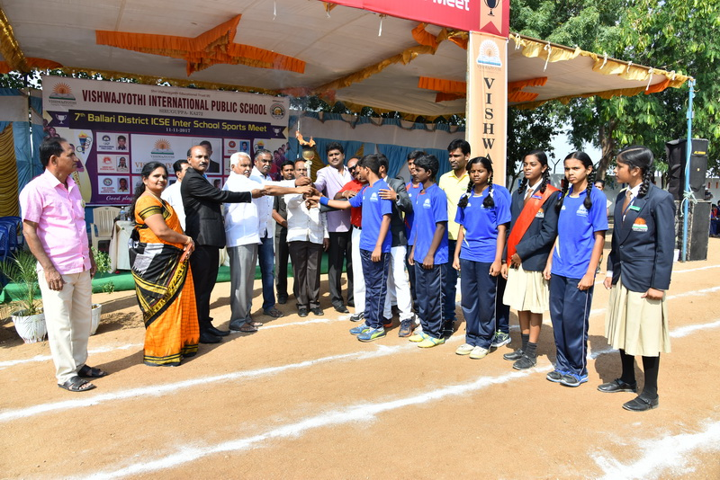 7th ICSE INTERSCHOOL SPORTS MEET BALLARI ZONE