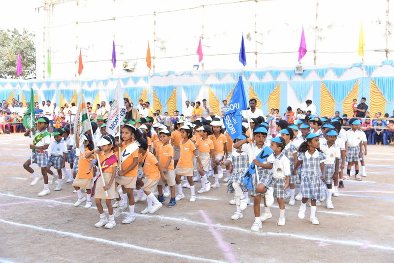 ANNUAL SPORTS MEET - VISHWAJYOTHI MONTESSORI